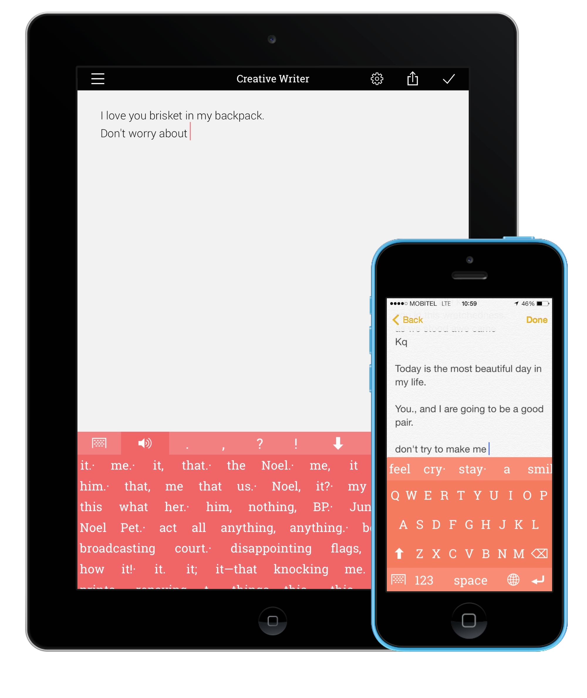 writing app for ipad The 10 best iphone and ipad apps for writers write right  this is a must-have app for any type of writing you do dictionarycom dictionary and thesaurus is available for free on the app store.